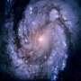 Spiral Galaxy M100 a divine cosmos