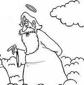 God pointing