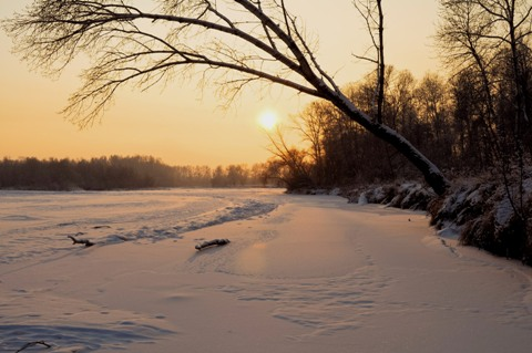Sun at Winter Solstice