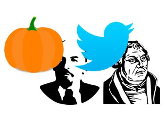 Halloween, Martin Luther and Vladimir Lenin